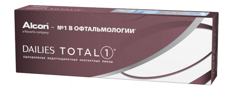 Контактные линзы Alcon Focus Dailies Total 1