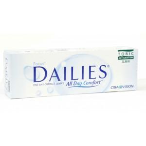 Контактные линзы Focus Dailies Toric