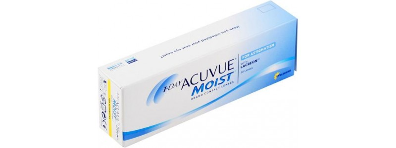 Контактные линзы 1-day Acuvue Moist for Astigmatism